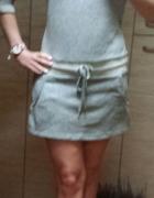 NOWA dresowa sukienka ściągacz M