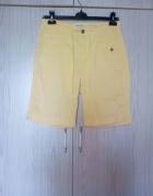 żółte spodenki Lee