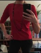 Czerwona bluzka New Look rozmiar S
