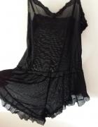 czarne body koszula nocna