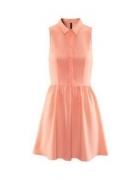 brzoskiwniowa sukienka h&m