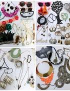 Mega paka biżuterii i dodatków BOHO świecidełka srebro