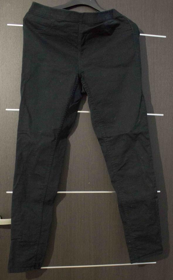 Czarne spodnie H&M