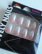 Centro lovely nails sztuczne paznokcie z klejem...