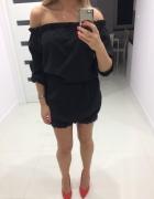 Sexi czarna sukienka hiszpanka...