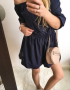 Granatowa sukienka Damska hiszpanka M