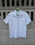 Męska Koszula L w paski Vertus