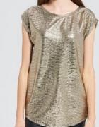 złota bluzka