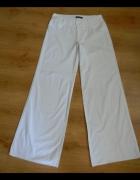Białe szerokie spodnie Greenpoint 38 M...