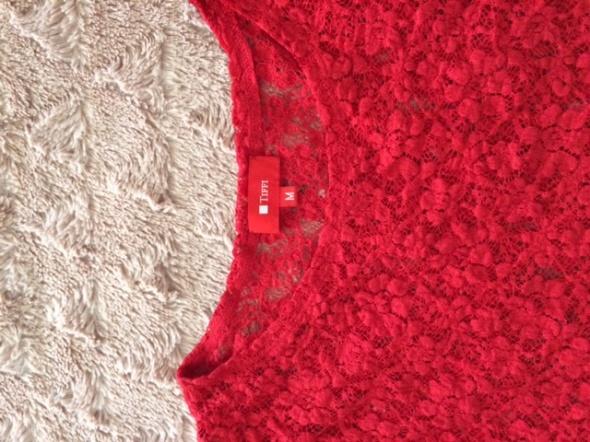 Elegancka koronkowa bluzka TIFFI rozmiar 38