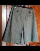 Trzyczęściowa garsonka kostium żakiet kamizelka spódnica