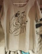 Bluzka z tygrysem