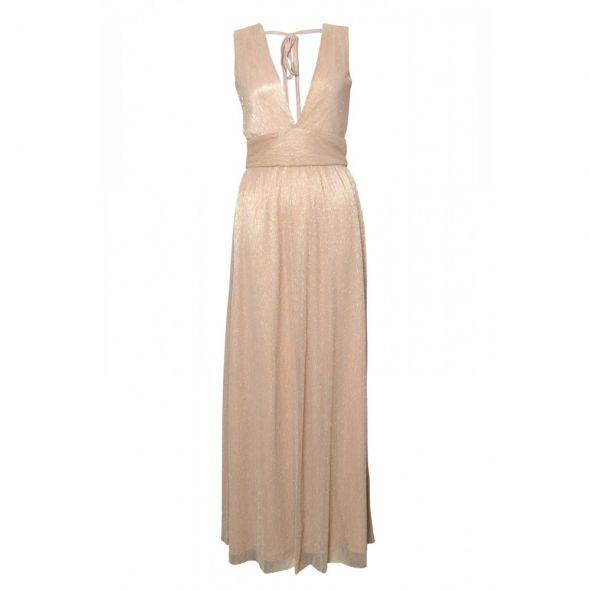 Asos maxi szara sukienka tiulowa balowa w Suknie i