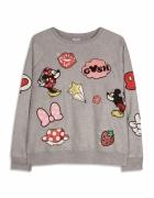 Disney Primark bluza z naszywkami