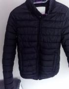Nowa kurtka pull&bear pikowana czarna S