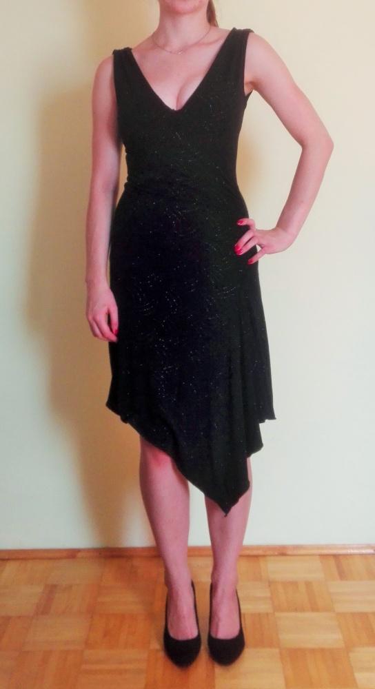 ff0cb4f74685 Czarna sukienka na bal wesele studniówkę w Suknie i sukienki - Szafa.pl