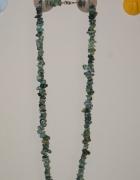 Korale z kamieni półszlachetnych kolor mięty