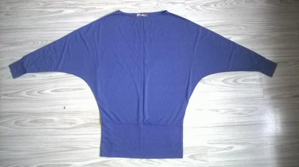 Fioletowa bluzka nietoperz Cropp