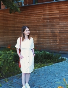 biala sukienka RESERVED...