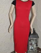 sukienka długa krwista czerwień 36 38