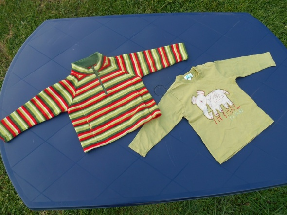 bluza i bluzka 86 92 na 18 do 24 m chłopięce