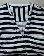 Koszula Reserved paski kieszonki zapinana