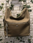 Nowa torebka worek beżowa...