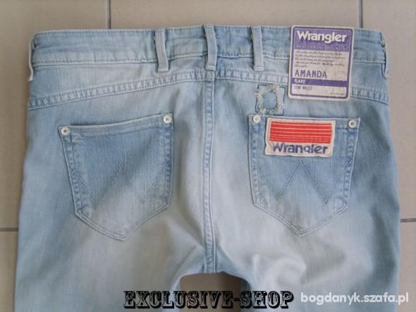 Wrangler AMANDA VINTAGE dzwony W26 L32 pas 74...