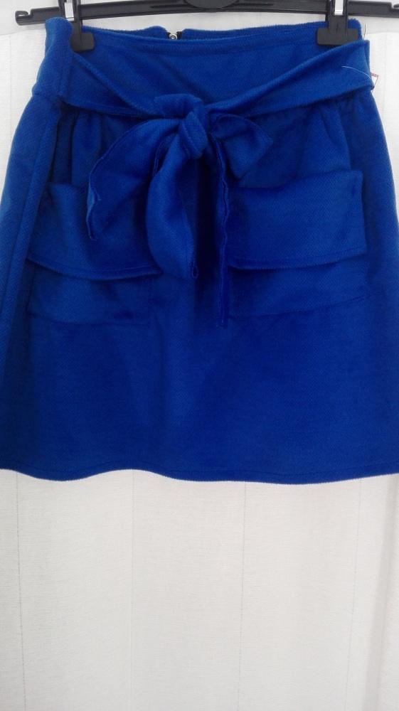 Spódnice Nowa spódnica w kolorze kobaltu