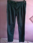 Materiałowe spodnie H&M