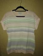Next Pastelowa letnia bluzka w paski 40...