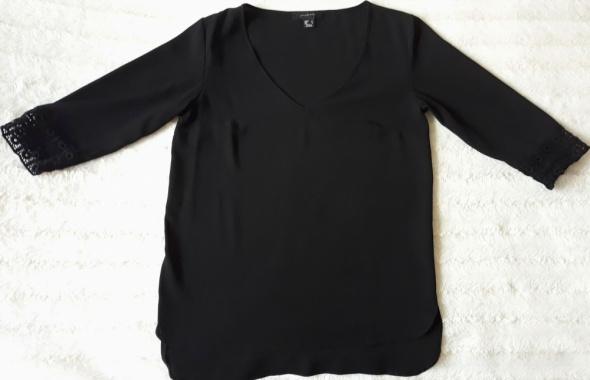Czarna delikatna koszula r 38...