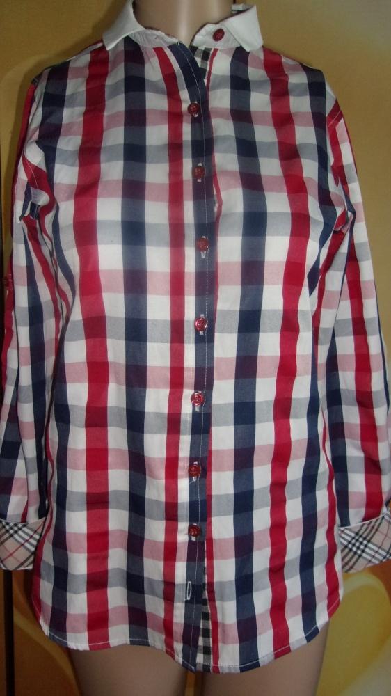 RUBIN super BLUZKA koszulowa M
