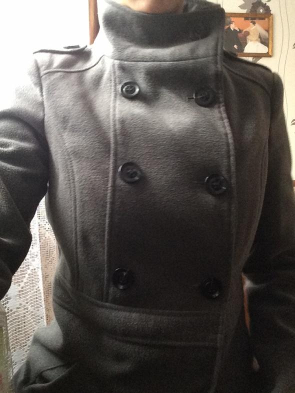 Płaszcz flauszowy...