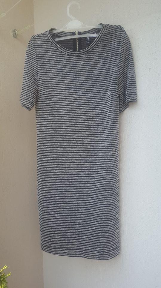 Nowa wąska sukienka na co dzień w paski H&M Divided 38 M