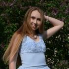 Błękitna spódniczka Róże 3D