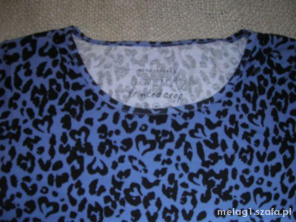 Bluzki Animal Krotka bluzka z długim rękawem 16