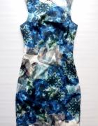 Elegancka sukienka w diamenty