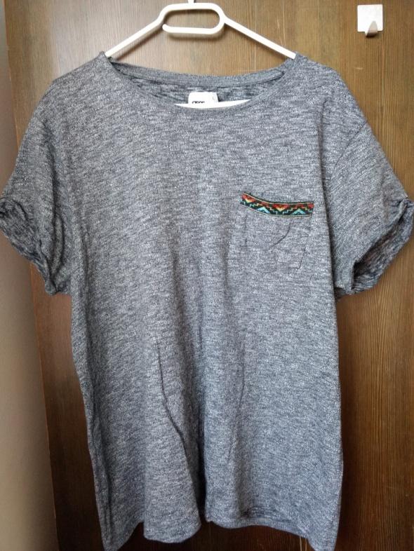 Szary T shirt ASOS XL męski...