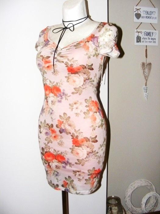Sukienka floral Mixage 34 36 summer blog style