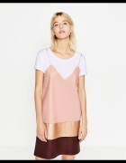 Skora ekoskora sukienka roz S Zara nowa...