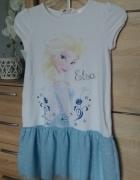Sukienka H&M kraina lodu...