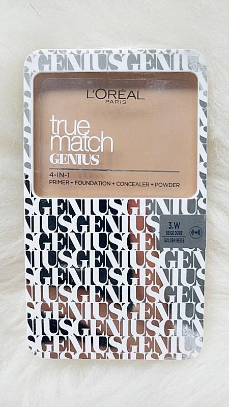 Loreal True Match Genius 4 w 1 puder podkład...