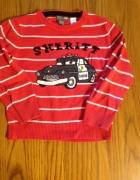 HM i NEXT świetny sweterek z Cars i jeansy przec...