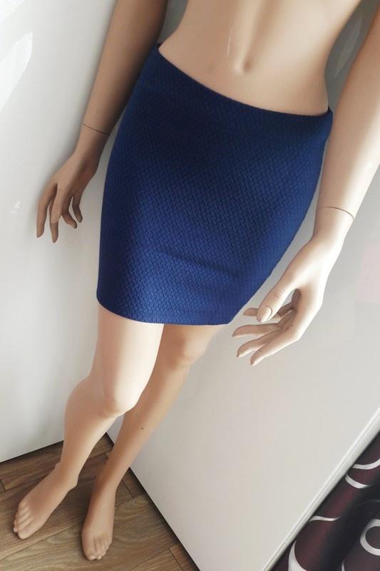 Spódnica mini z zipem z tyłu Nowa z metkami
