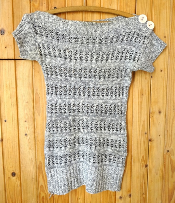 szara tunika sweterek melanż Jane Norman m 38...