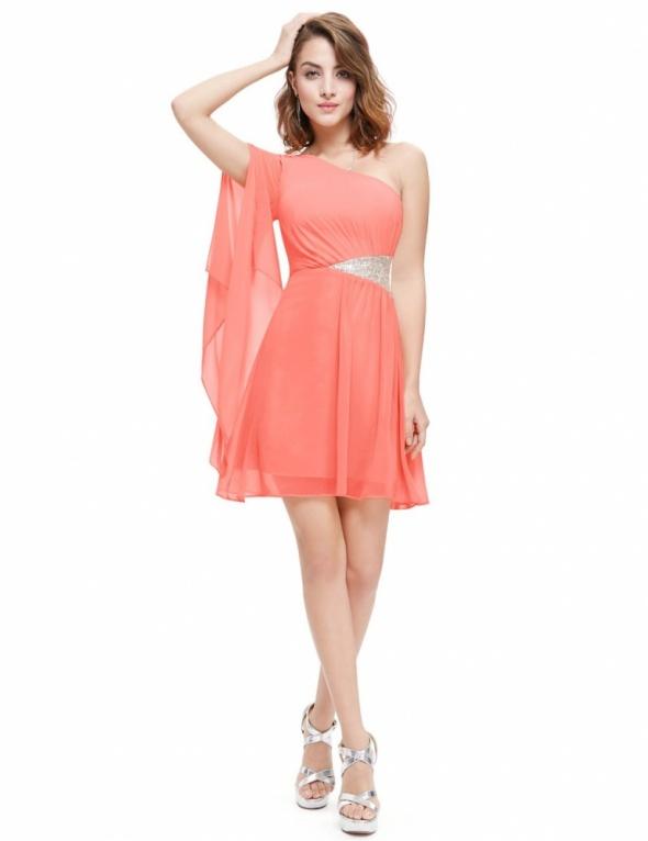 Nowa sukienka szyfonowa Ever Pretty metka 38 40 k