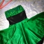 Nowa sukienka midi rozkloszowana 38 M zielona wese