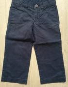 Granatowe chłopięce spodnie Ralph Lauren...