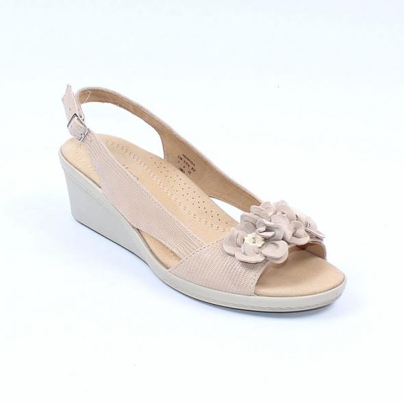 Skórzane sandały damskie Hotter 41